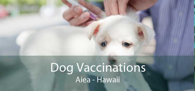 Dog Vaccinations Aiea - Hawaii