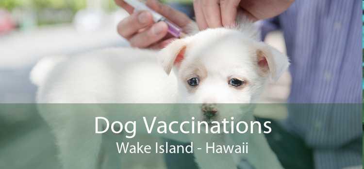 Dog Vaccinations Wake Island - Hawaii