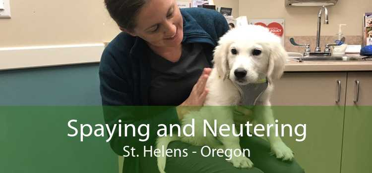 Spaying and Neutering St. Helens - Oregon